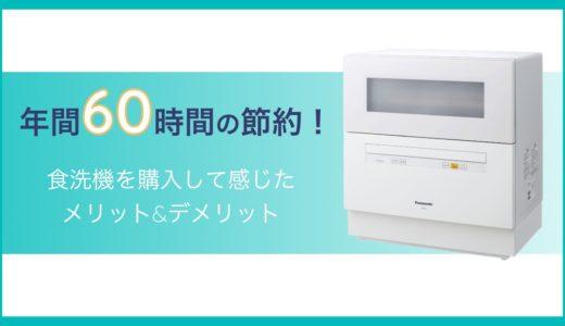 食洗機で家事効率化!Panasonic NP-TH1のメリットとデメリット